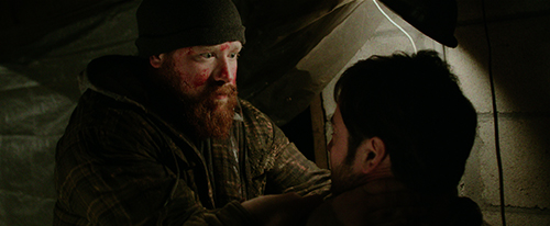 Josh Ethier as Mark (L) and Graham Skipper as Seth in 'Almost Human.' © 2013. An IFC Midnight release.
