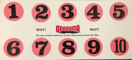 POLYESTER--Odorama-card-back